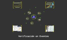 Verificación en Eventos