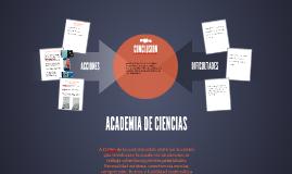 ACADEMIA DE CIENCIAS