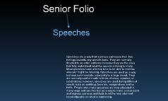 Senior Folio