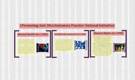Promoting Anti-Discriminatory Practice