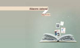 Bitacora Autocad