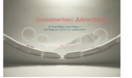 Consumerism: Pros & Cons (: