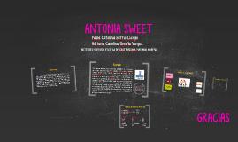 ANTONIA SWEET