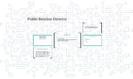 Public Relation Director