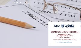 Comunicación escrita: CURRICULUM VITAE. El correo electrónico. Redes sociales.8  PASOS PARA UNA BUENA REDACCIÓN