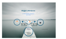 blogger y wordpress