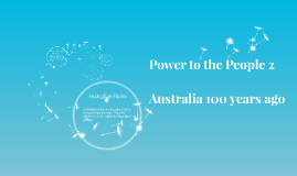 Copy of Power to the People Project 2
