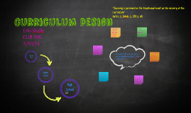 Curriculum Design Graphic Organizer