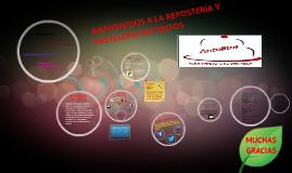 Copy of BIENVENIDOS A LA REPOSTERIA Y PASTELERIA ANTOJITOS