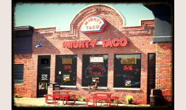 Mighty Taco at SUNY Fredonia