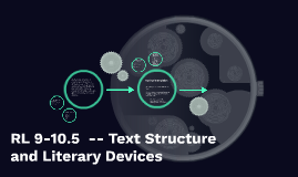 RL 9-10.5  -- Text Structure and Literary Devices