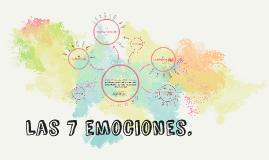 Las 7 emociones.