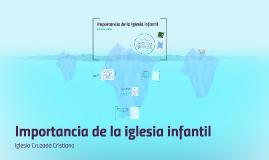 Copy of Importancia de la Iglesia Infantil
