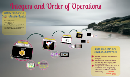 Copy of Integers and Order of Operations