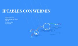 IPTABLES CON WEBMIN