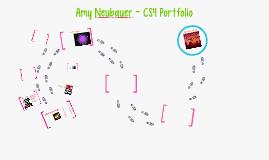 Amy Neubauer - CS4 Portfolio