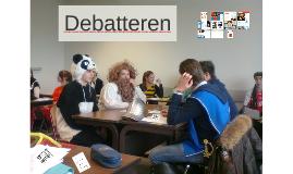Debatteren