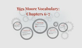 Wes Moore Vocabulary: Chapters 6-7