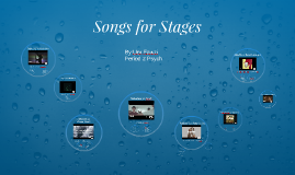 Songs for Stages