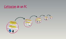 Cotizacion de un PC