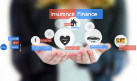 Insurance and finance topic - Prezi template
