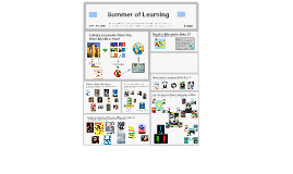2016 Summer of Learning