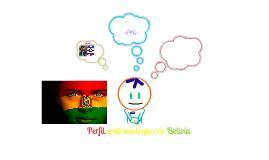 perfil epidemiologico Bolivia