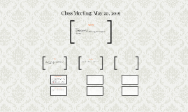 Class Meeting: May 22, 2017