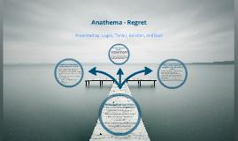 Anathema - Regret (Philosophy 101)