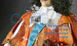 Restoration and the18th century:Historical Context