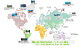 Doing Business in: Australia