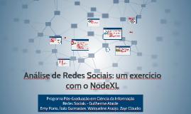 Analise de Redes Sociais