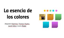 La esencia de los colores