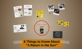 "6 Things to Know About ""A Raisin in a Sun"