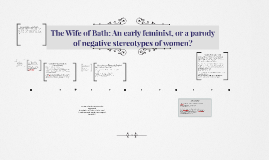 Copy of Copy of The Wife of Bath in Historical Context