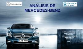 Copy of ANÁLISIS DE MERCEDES-BENZ