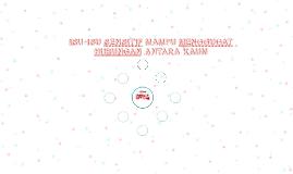 Copy of ISU-ISU SENSITIF MAMPU MENGGUGAT HUBUNGAN ANTARA KAUM