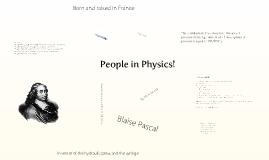 History of Physics Presentations