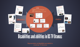 disAbility and Ability in US TV Dramas