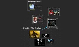 Copy of Unit 26 - Film Studies