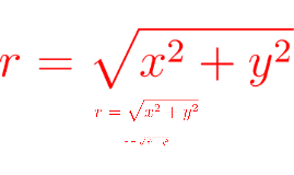 Red equations