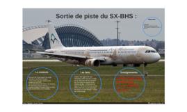 Sortie de piste du SX-BHS :
