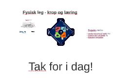 Play User Lab - Fysisk Leg, Discite
