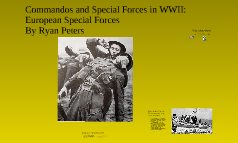 Special Forces during WWII