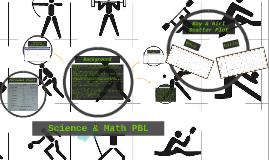 Math & Science PBL