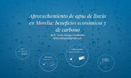Aprovechamiento de agua de lluvia en Morelia: beneficios eco