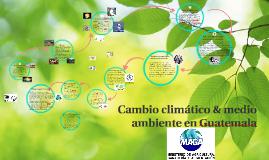 cambio climático & medio ambiente