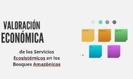 Valoración Económica de Servicios Ecosistémicos. Caso Loreto
