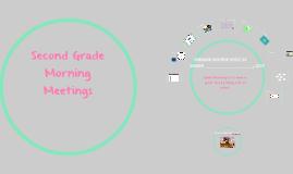 Morning Meeting Week 29
