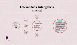Lateralidad e Inteligencia Musical
